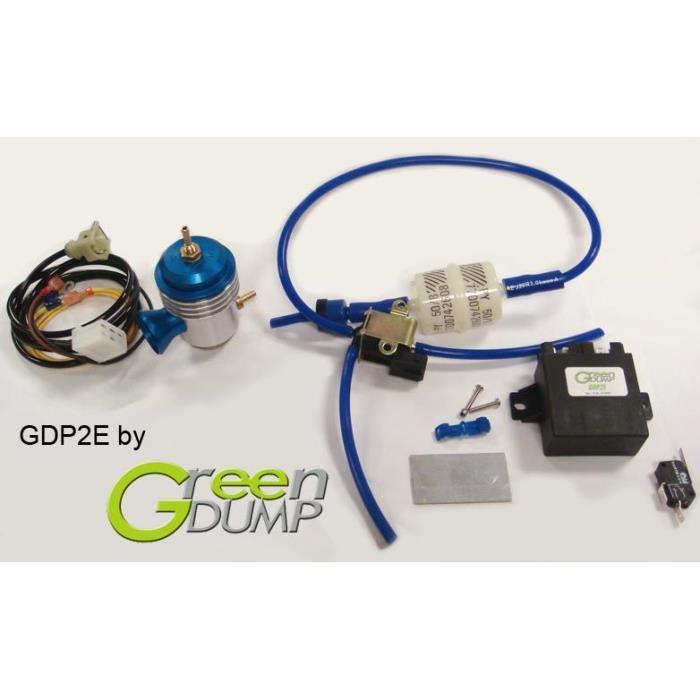 Kit Dump Valve Electronique Essence. generique. GDP2E. DVSPNR2E. Green Dump.