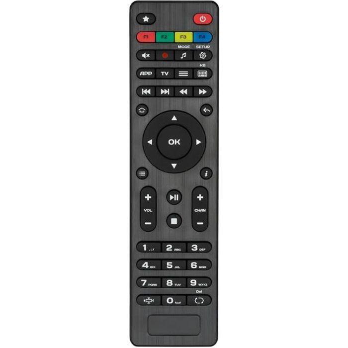 INFOMIR Télécommande d'origine pour récepteur modèle MAG250 / 254 / 256 / 270 / 275 / 322