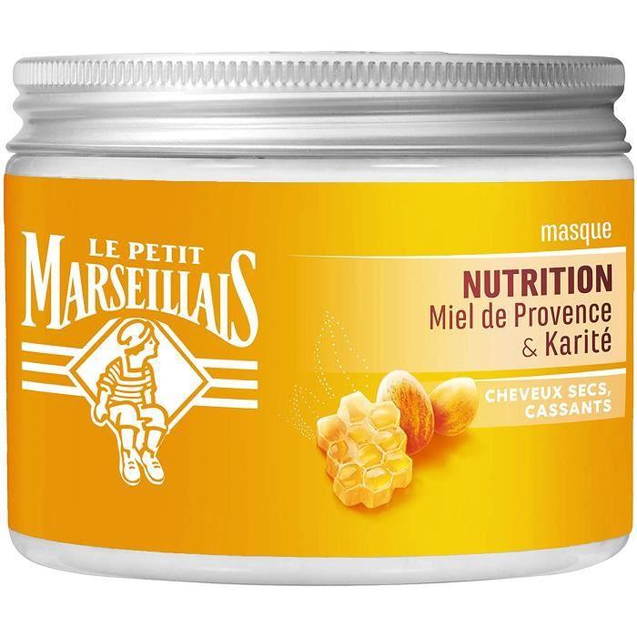 Le Petit Marseillais LPM MASQUE NUTRITION KARITE MIEL DE PROVENCE POT 300ML