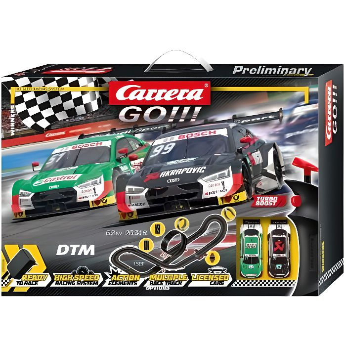 Carrera GO!!! 62519 Coffret Winners