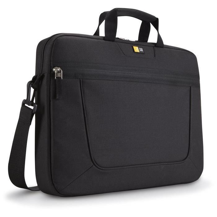 Case Logic VNAi215 Sacoche en nylon pour Ordinateur portable 15.6- Noir: Informatique