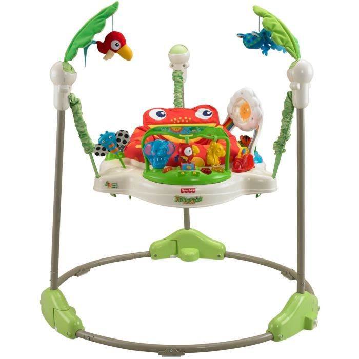 FISHER-PRICE Jumperoo Jungle - 6 mois et +