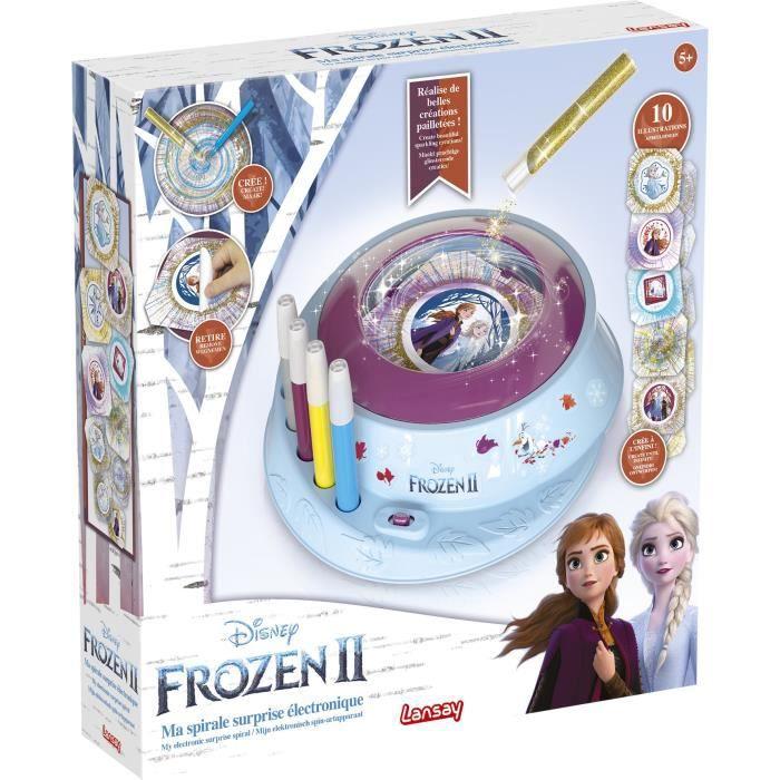 LANSAY La reine des neiges II Jeu de coloriage Ma spirale surprise électronique - Fille - À partir de 5 ans
