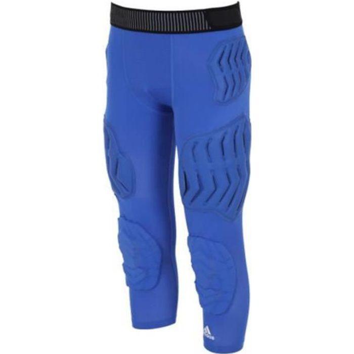 Collant de running 3-4 Bleu homme Adidas Pad