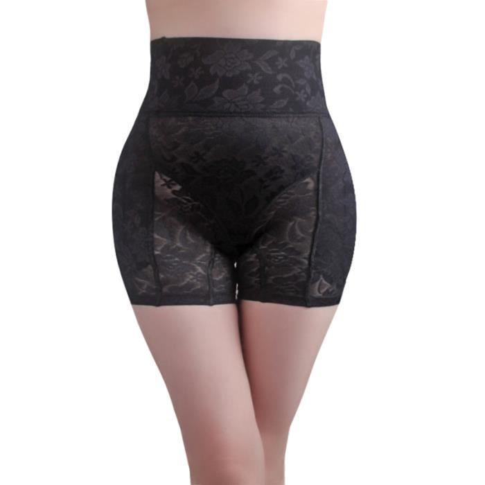 Slip taille haute pour femme de contrôle de l'abdomen de levage de hanche (Noir M) BRASSIERE DE SPORT - SOUTIEN-GORGE DE SPORT