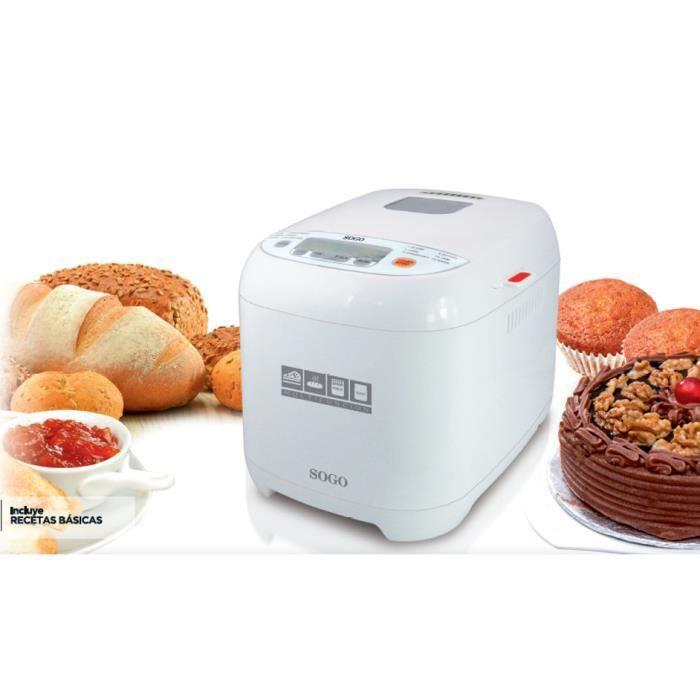 Machine à pain multifonction Sogo PAN-SS-10720