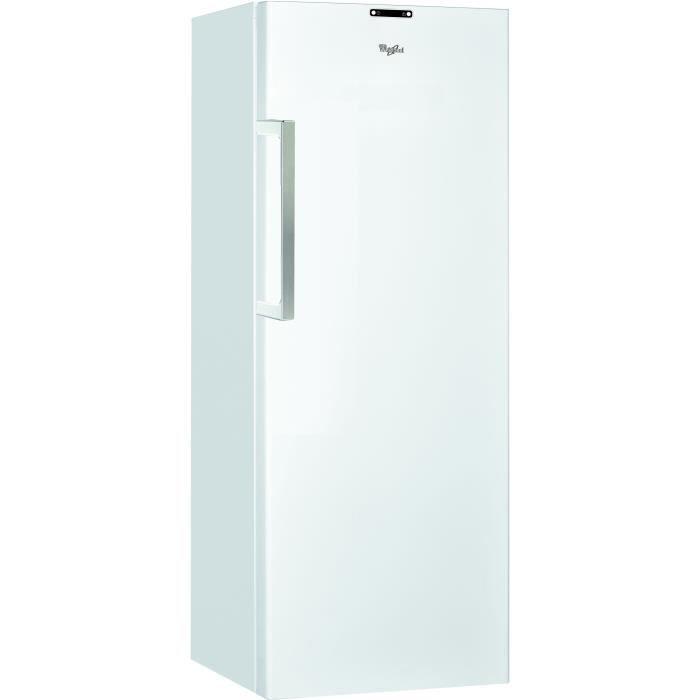 Whirlpool ZU35642NFW - Congélateur armoire - 344L - Froid ventilé No frost - A++ - L 71 x H 187 cm - Blanc