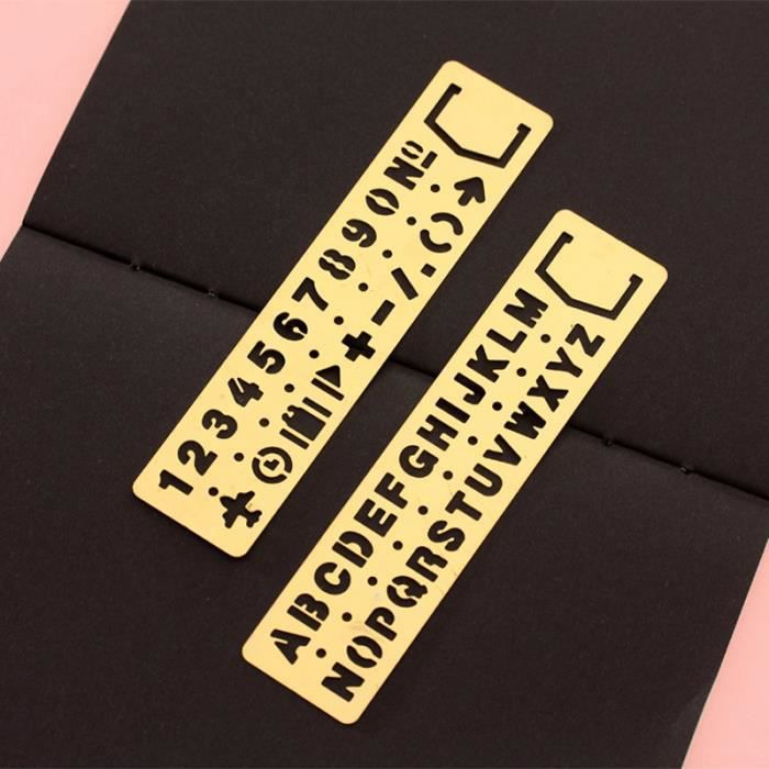 pochoir de sol p/âtisserie mur Hauteur des chiffres 5 cm Chiffres et symboles adapt/é aux enfants 8,5 x 10 cm Set de pochoirs en chiffres meubles artisanat Pochoir r/éutilisable Peinture