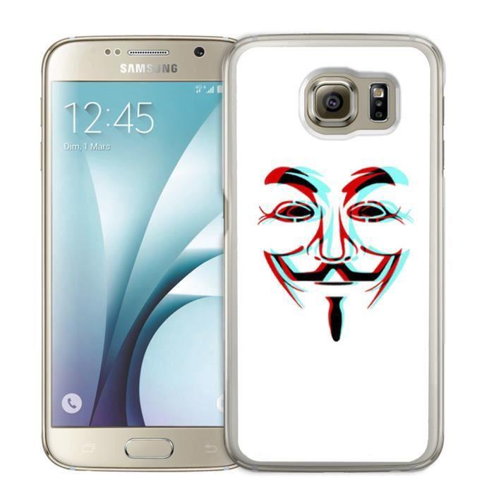 Coque Samsung Galaxy S5 Mini : Anonymous 3D