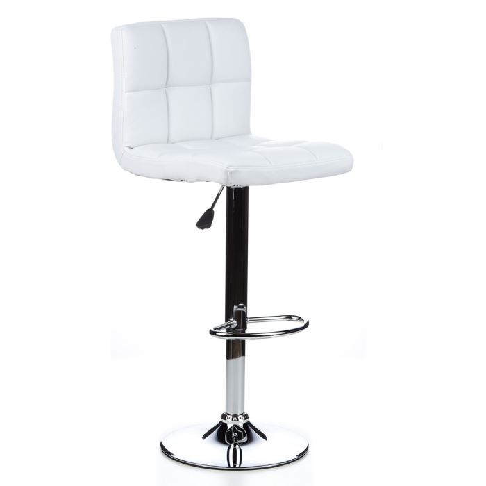 tabouret de bar tabouret haut lounger blanc achat vente tabouret de bar polyur thane. Black Bedroom Furniture Sets. Home Design Ideas