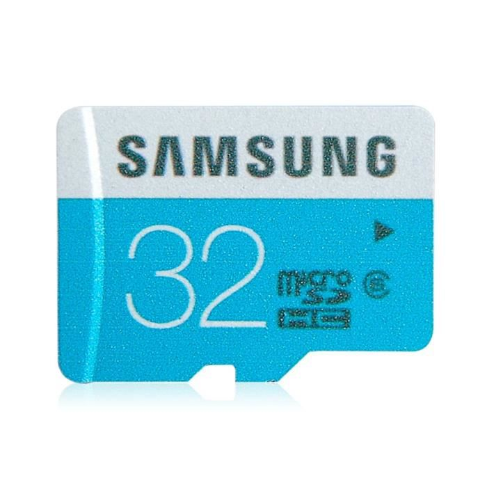 samsung haut d bit de 32 go micro sdhc micro sd achat vente carte m moire cdiscount. Black Bedroom Furniture Sets. Home Design Ideas
