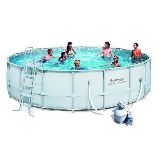 Piscine tubulaire ronde power steel frame pool 549 x 132 for Piscine tubulaire occasion