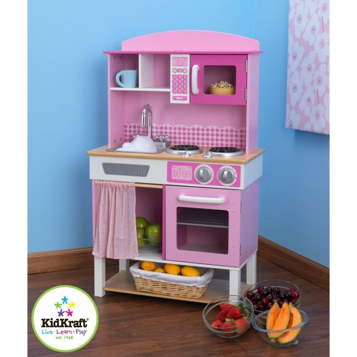 kidkraft cuisine enfant familiale en bois achat vente dinette cuisine cdiscount. Black Bedroom Furniture Sets. Home Design Ideas