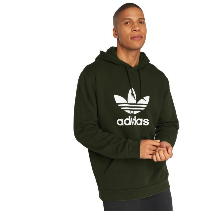 website for discount closer at sneakers for cheap adidas originals Homme Hauts / Sweat capuche Trefoil