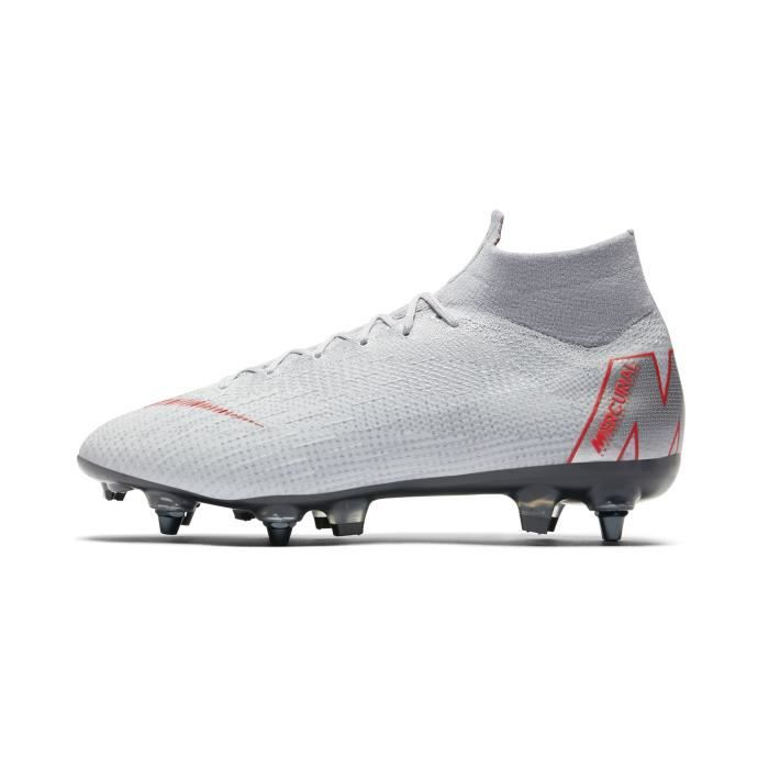 sports shoes 23f7c 3ec78 Chaussures football Nike Mercurial Superfly 360 VI Elite SG-PRO Anti-Clog  Gris