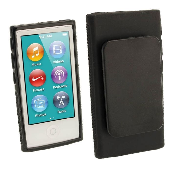 Coque ipod nano 7 housse de protection arri re achat for Housse ipod nano