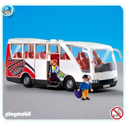 le bus playmobil achat vente jeux et jouets pas chers. Black Bedroom Furniture Sets. Home Design Ideas
