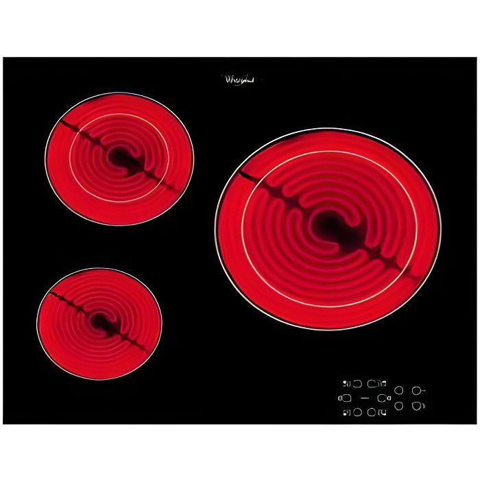 Table De Cuisson Vitroceramique Whirlpool Akt80 Achat Vente