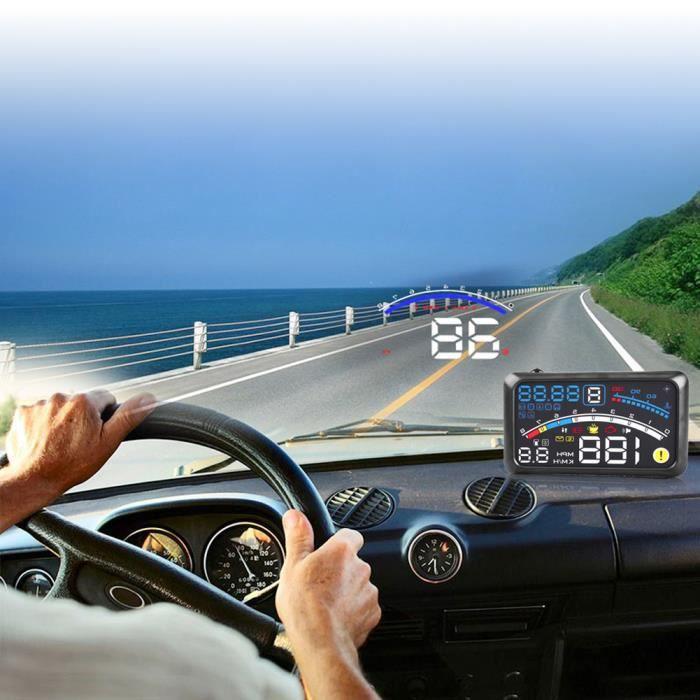 AFFICHAGE PARE-BRISE F4 Compteur vitesse GPS Affichage Tête Haute HUD