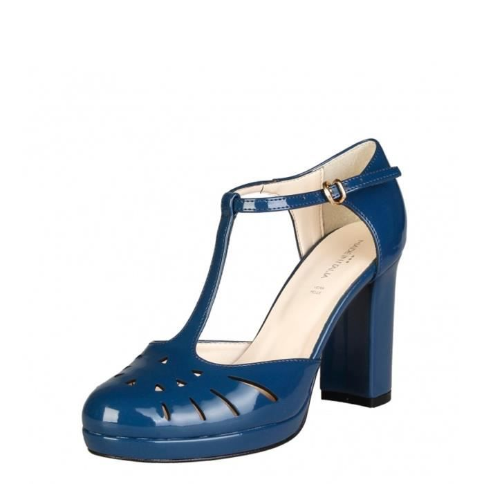 Made In Italie - -height talon chaussures bleu Sefora: 9,5cm