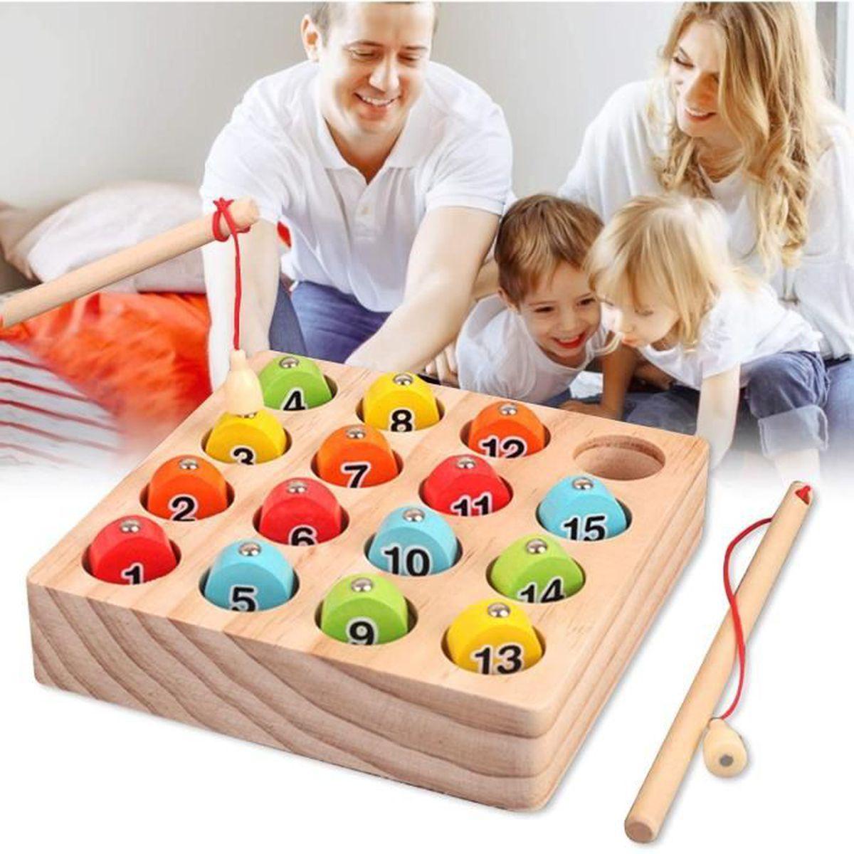 2 In 1 Jeux Montessori 2 Ans 3 Ans 4 Ans Jeu De Tri De Couleur Peche Jouets Educatif Jouet Enfant 3 Ans Achat Vente Coffret Cadeau 2008036851199 Cdiscount