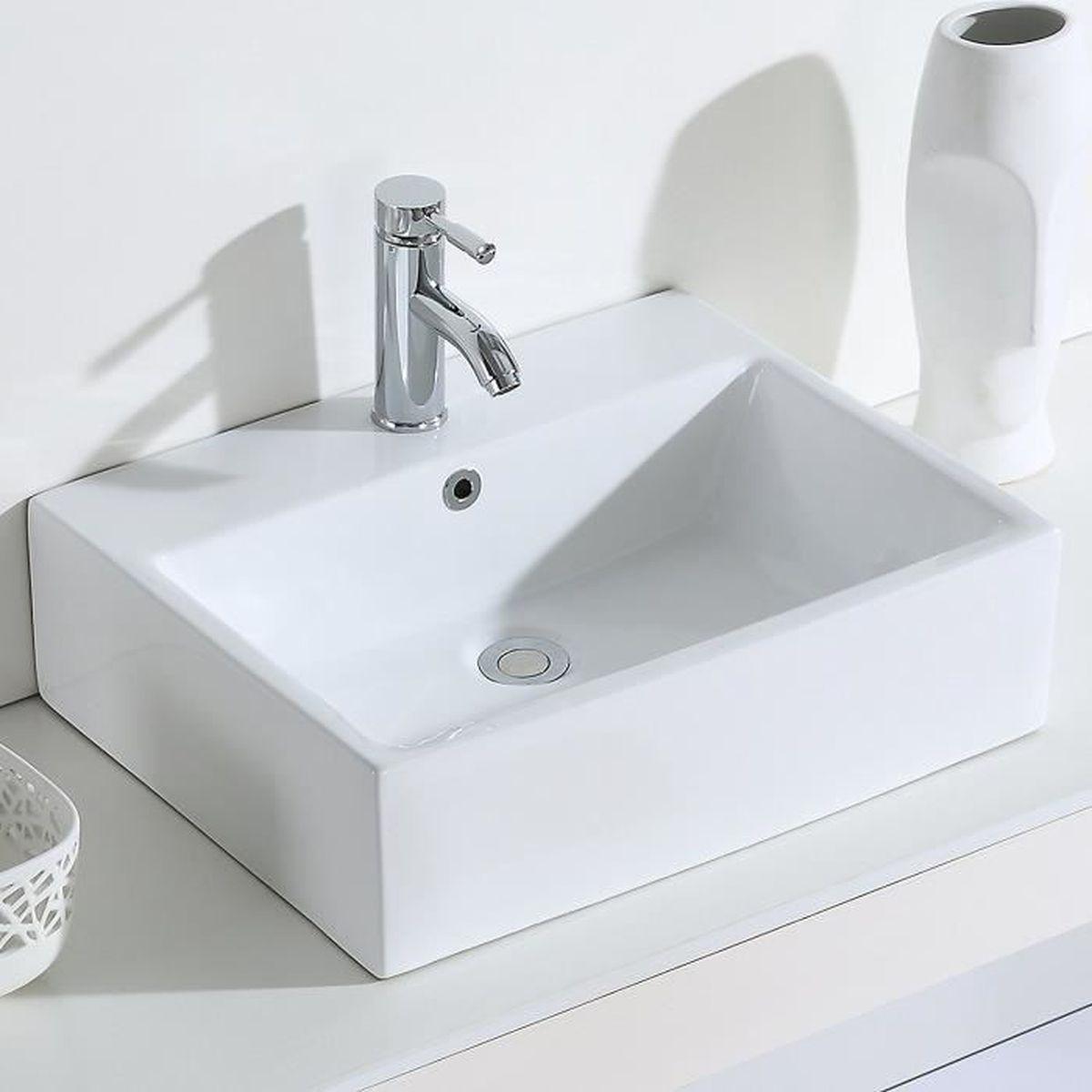 Vasque Salle De Bain A Suspendre eridanus série monterosso, vasque à poser suspendu