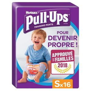 COUCHE HUGGIES Pull ups Culottes d'apprentissage - Taille