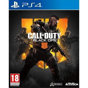 JEU PS4 Call Of Duty Black OPS 4 Jeu PS4 (Import - 100% jo