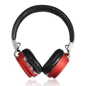 CASQUE - ÉCOUTEURS Écouteurs sans fil bluetooth + MP3 fonction 2in1,