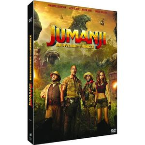 DVD FILM Jumanji : Bienvenue dans la jungle [DVD]