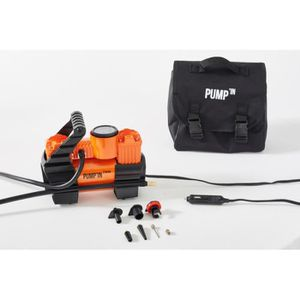 COMPRESSEUR AUTO Pump'in TWIN - Mini-compresseur 12V bi-moteur alim