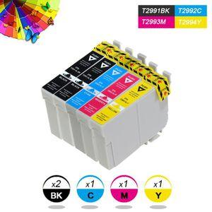 CARTOUCHE IMPRIMANTE Pack 5 cartouches compatibles Epson T2991-T2994 -