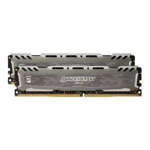 MÉMOIRE RAM BALLISTIX - Mémoire RAM PC - Sport LT Gris - DDR4