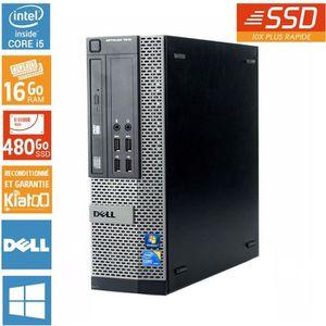 ORDI BUREAU RECONDITIONNÉ Pc bureau DELL OPTIPLEX 7010 intel core I5 16 go