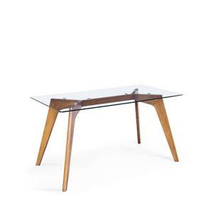 TABLE À MANGER SEULE Table à manger rectangulaire 160x90cm Ingmar - Cou