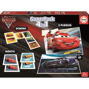 JEU D'APPRENTISSAGE CARS 3 - Superpack