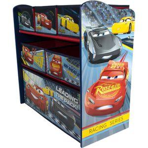 PETIT MEUBLE RANGEMENT  CARS 3 Meuble de Rangement - 6 Tiroirs
