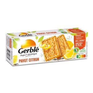 BISCUITS SECS Biscuits pavot citron 200 g Gerblé