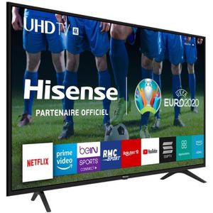 Téléviseur LED Hisense - Smart TV Ultra HD 55