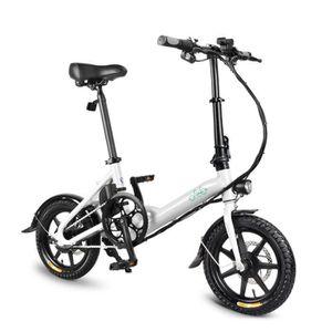 VÉLO ASSISTANCE ÉLEC Vélo électrique 10-20 km/h 7.8Ah 250W 14 pouces ca