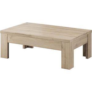 TABLE BASSE Table basse en panneau de particule, chene clair g