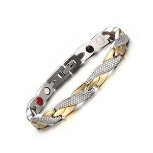 BRACELET - GOURMETTE Bracelet magnétique santé pour femmes Power Therap