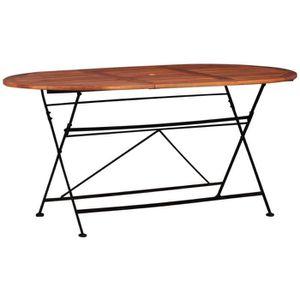 Table en Jardin Festnight Table Extérieur de Bois Jardin BexrdCo