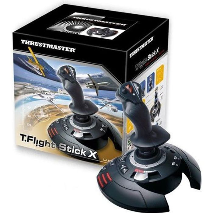 Manette de Jeu T-Flight Stick X PS3
