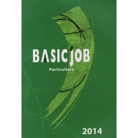 LIVRE ÉCONOMIE  Basic'Job Particuliers