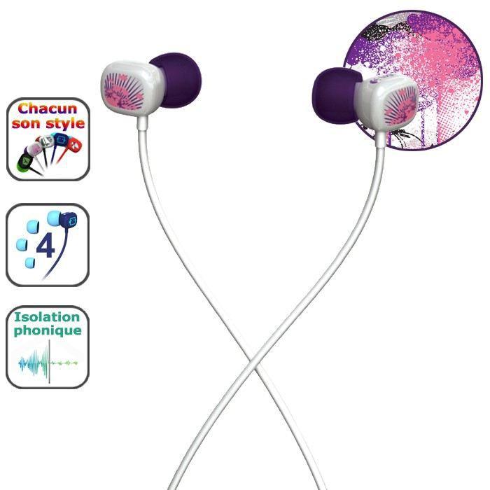 Logitech Ultimate Ears 100 Purple Splatter