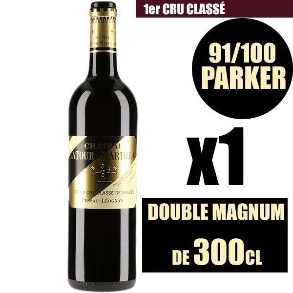 X1 Château La Tour de Mons 2011 300 cl AOC Margaux Rouge Cru Bourgeois Vin Rouge