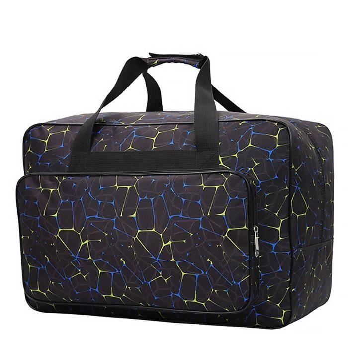 Grande capacité Machine à coudre stockage sac à main femmes sport Fitness sac de transport Machine à coudre étui de [772722D]