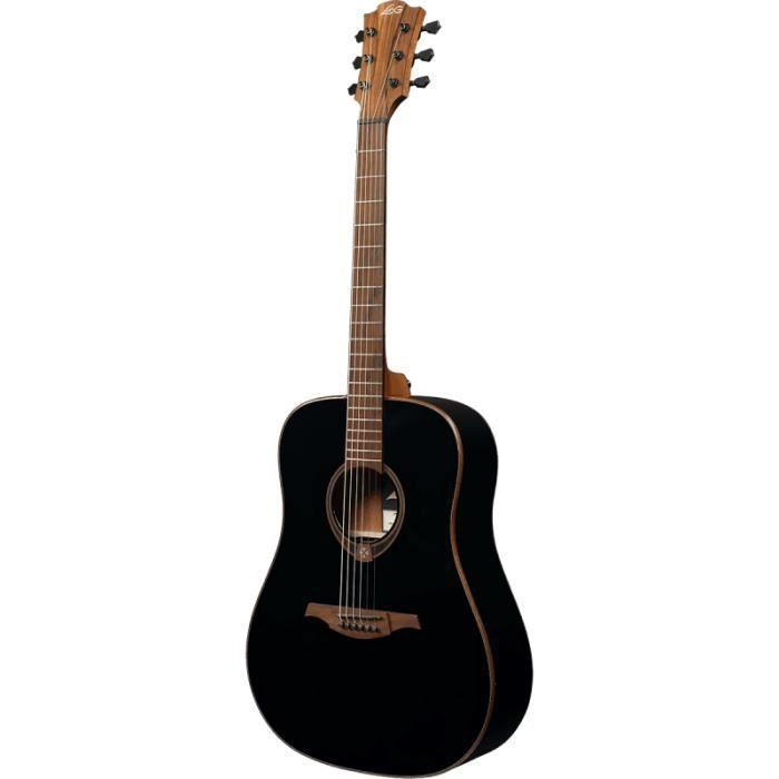 LAG - GLA T118D-BLK - Guitare Folk - Tramontane 118 - Dreadnought black