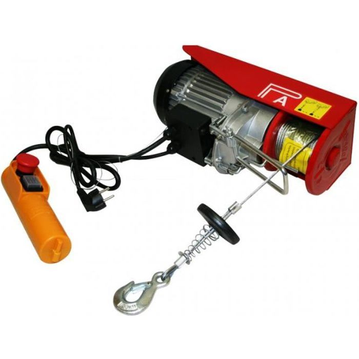 Treuil palan électrique 220V 400 /800KG 1300W avec